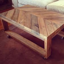 simplycozyrestoration chic chevron coffee table from scratch