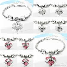 love heart charm bracelet images 54 types diamond love heart charm bracelet crystal family member jpg