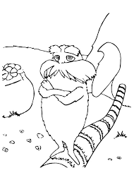 lorax coloring pages printable coloringstar