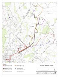 Wmata Map Metro by Metrobus Studies Rhode Island Avenue