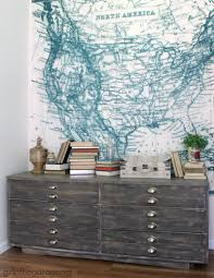 Anthropologie Desk Accessories by Accessories Anthropologie Industrial Dresser With Wall Decor And