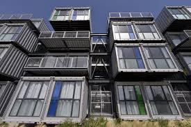 chambre etudiant le havre au danemark des conteneurs sont transformés en logements étudiants