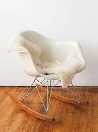 Charles Eames Rocking Chair Design Ideas Eames Rocking Chair Sheepskin Furniture Chairs Pinterest
