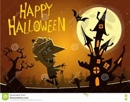 haunted house clipart halloween tombstone pencil and in color