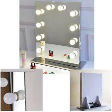 Lighted Make Up Vanity Chende Frameless Hollywood Tabletops Lighted Makeup Vanity Mirror