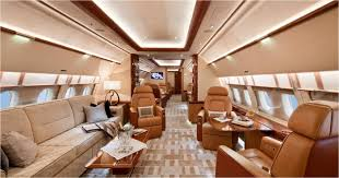 luxury private jet interior travel the world with private jet