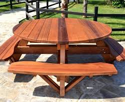 Folding Picnic Table To Bench Picnic Table Bench Cushions Outdoor Patio Tables Ideas Folding