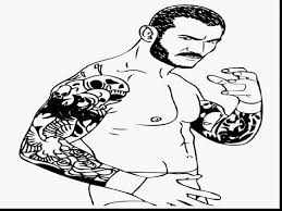 good wwe randy orton coloring pages to print with wwe coloring