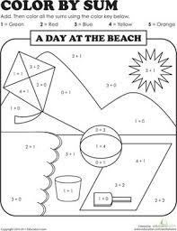 pictures on addition worksheets for first grade wedding ideas