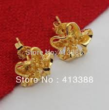 gold earrings price in sri lanka er508 new arrivals high quality trendy women jewelry 1 15cm stud