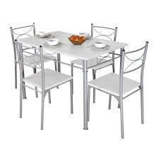 cuisine c discount table et chaise cdiscount 4 chaises 2 rallonges plato noir