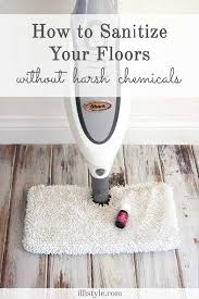 sanitizing your floors without harsh chemicals