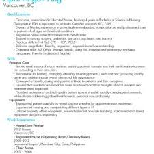 Caregiver Resume Samples Elderly by Cover Letter Resume Sample For Caregiver Sample Resume For