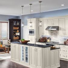 glass kitchen cabinets lowes shop shenandoah cabinets at lowe s