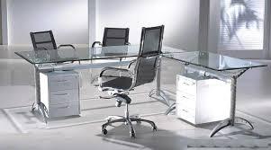 Desk Inspiration Contemporary Glass Desks For Home Office Fair 30 Glass Home