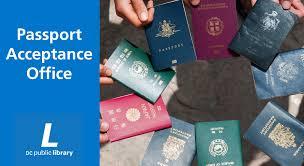 dc public library passport acceptance center district of