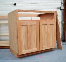 building kitchen base cabinets valuable design how to build a cabinet box frameless base cabinets