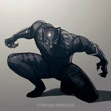 black panther by dctb on deviantart