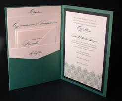 pocket wedding invitation kits plumegiant com
