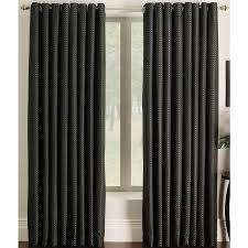 shop allen roth sullivan 84 in black polyester grommet light