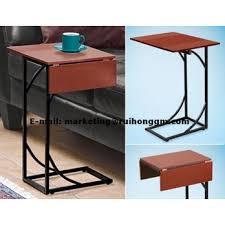 Sofa Side Table New Flip Top Adjustable Sofa Side Table Laptop Table End Table Up