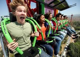 Six Flags Superman Ride Lex Luthor U201cdrops In U201d On Superman From Record Breaking Height At