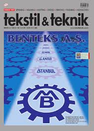tekstil teknik mayis u002713 by tekstil teknik issuu