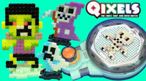 qixels glow in the dark fuse n dry combo pack make minecraft
