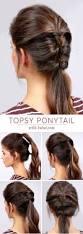 Simple N Easy Hairstyles by Best 25 Volume Ponytail Ideas On Pinterest No Makeup Looks