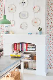 Small White Shelves by Absolutely Love This Chimney Breast Painted White Shelves