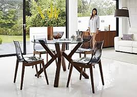 Glass Dining Room Furniture Glass Dining Table Sets Furniture Village