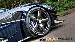 koenigsegg one 1 blue the bhp project u0027s blue koenigsegg one 1 megacar front wheel angle
