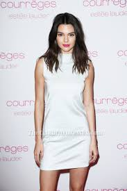 kendall jenner white mini dress party homecoming dresses