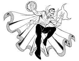 coloring pages for adults doctor strange coloring page new on set