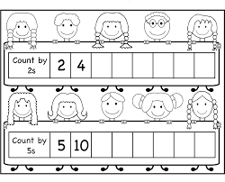 count by 2 worksheets for kids activity shelter