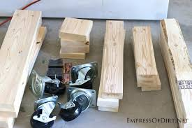 Plans For Building A Woodworking Workbench by Build A Diy Workbench Empress Of Dirt