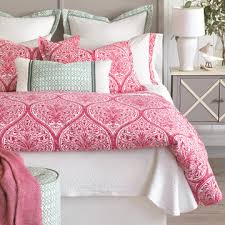 Pink And Gray Comforter Luxury Bedding By Eastern Accents Collections