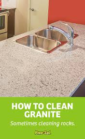can you use to clean countertops how to clean granite pine sol