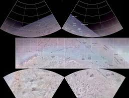 Moon Map Map Of Triton Moon Of Neptune Cirsova