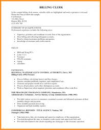 billing resume exles billing resume exles parts ofmples entry level and coding