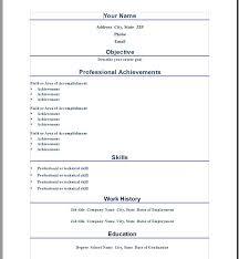 ten great free resume templates microsoft word download links