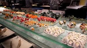 Minado Sushi Buffet by Todai Sushi Buffet In Las Vegas Youtube