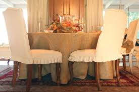 dining chairs linen dining chair burlap room slipcovers covers