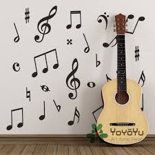 compare prices on wall murals baby room online shopping buy low pack of 50 music wall stickers music symbols wall decals for kids baby room decoration