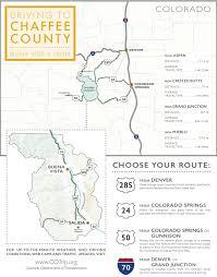 Colorado Springs Colorado Map by Getting Here Buena Vista U0026 Salida Colorado Vacations