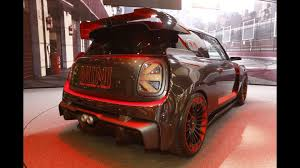 mini john cooper works gp concept shows its racy body on camera