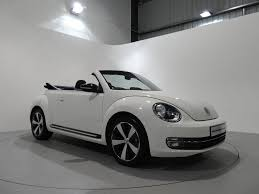 volkswagen convertible black volkswagen beetle 2 0 tdi sport dsg finished in candy white with