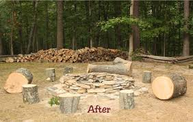 Rustic Firepit The Simple Laugh Rustic Recycling