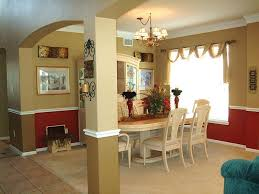 Dining Room Wall Paint Ideas by Two Tone Dining Room Dining Room Transitional Dining Room Calgary
