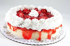 strawberry new york cheese cake with whipped cream oteri u0027s